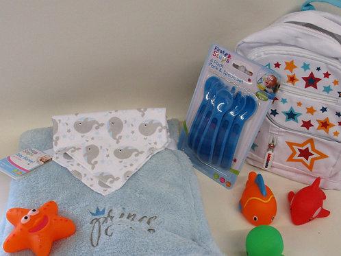 Toddler backpack gift set