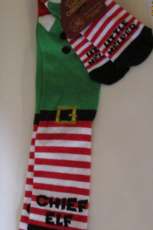 Parent & Child Christmas socks set