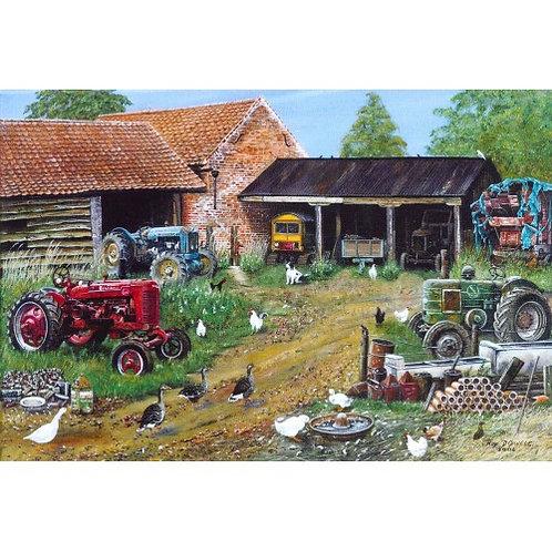 The Yard 500 Piece Jigsaw Puzzle