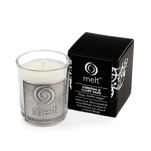 Verbena & Clary Sage scented luxury room scenter candle
