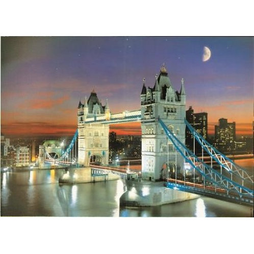 Tower Bridge By Night 500 Piece Jigsaw Puzzle