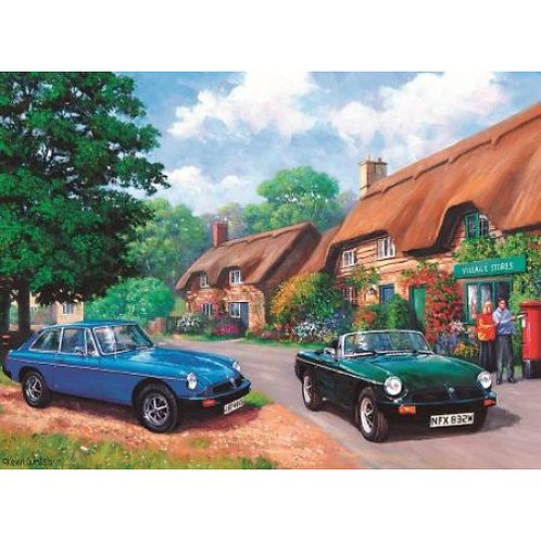 Country Drive 500 Piece Jigsaw Puzzle