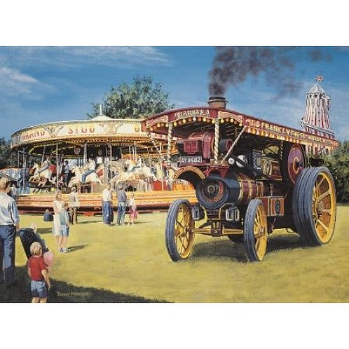 All the Fun of the Fair 500 Piece Jigsaw Puzzle