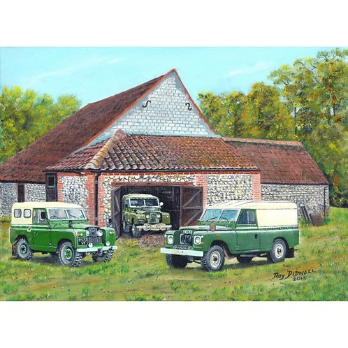 The Landrover Collection  500 Piece Jigsaw Puzzle