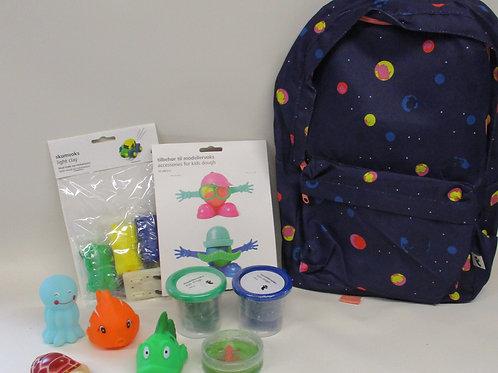 Children's gift set - filled backpack