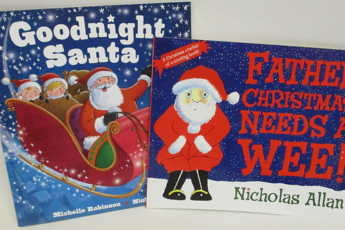 Christmas picture books - 2 pack