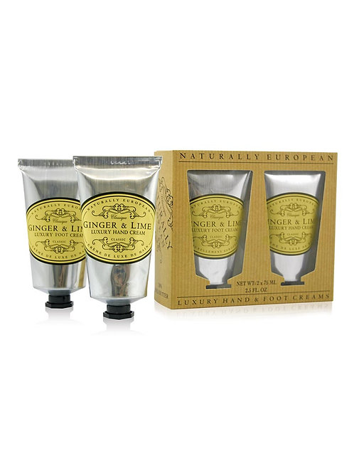 Naturally European Ginger & Lime Hand & Foot Collection