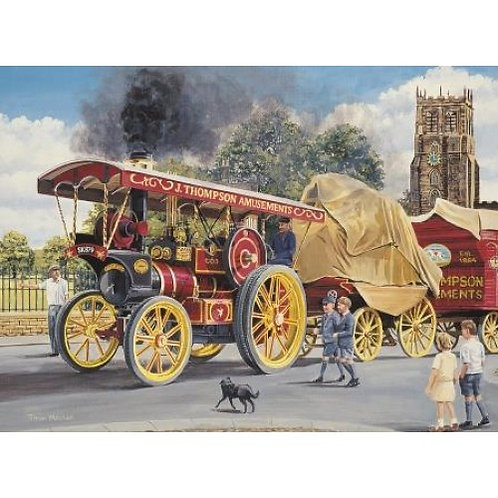 Here Comes The Fair!  500 Piece Jigsaw Puzzle