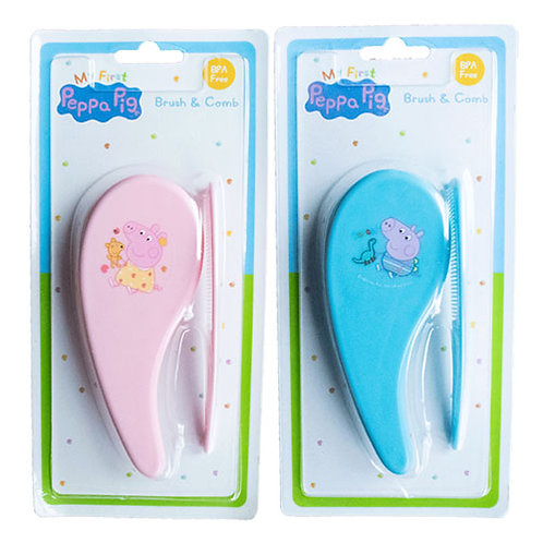 Peppa Pig Brush and Comb set