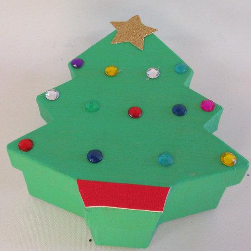 Handmade Christmas Gift Box Tree