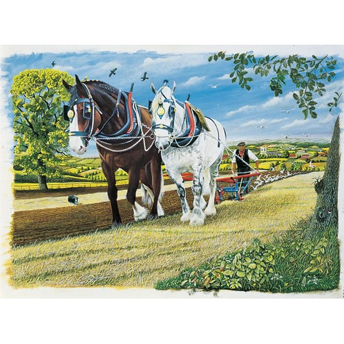 Captain and Moonlight - 1000 Piece Jigsaw Puzzle