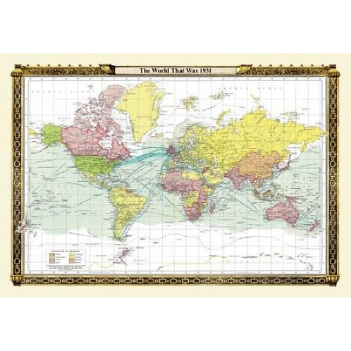 World Maps Collection - The World That was 1931 - 1000 Piece Jigsaw Puzzle