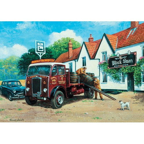 Local Deliveries - 1000 Piece Jigsaw Puzzle