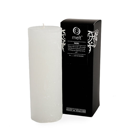 Noel scented luxury tall & thin candle