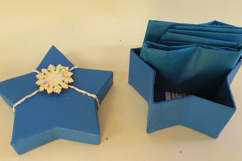 Handmade Christmas Gift Box Star