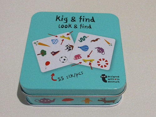 Look and Find matching game