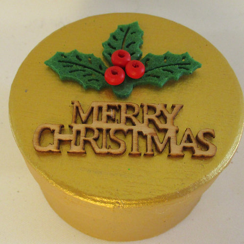 Handmade Christmas Gift Box