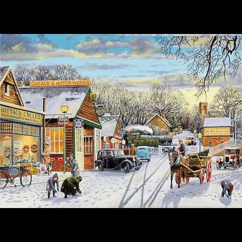 Winter Service - 1000 Piece Jigsaw Puzzle