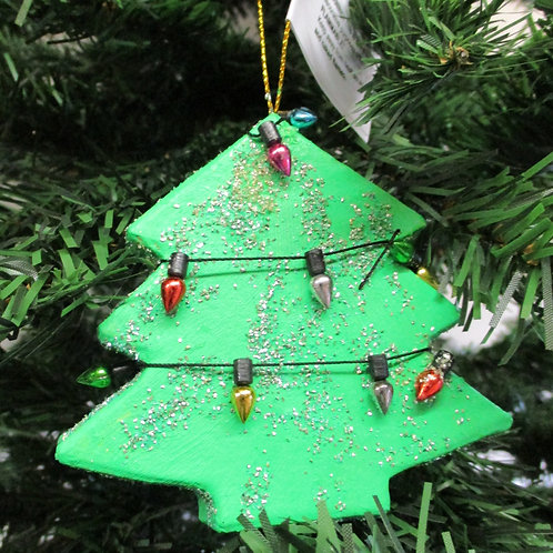 Handmade Christmas Decoration - Tree