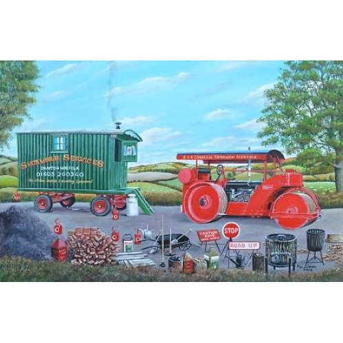 Road Rollers - 1000 Piece Jigsaw Puzzle