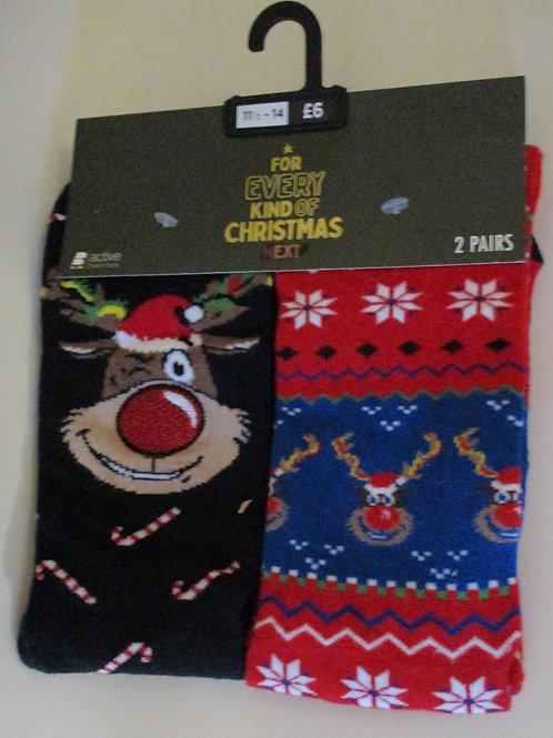 Men's Christmas socks - 2 pack