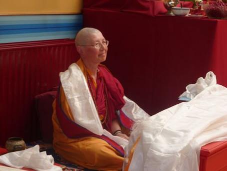 Message de Lama Rinchen Palmo