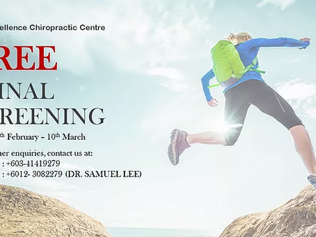 GRAND OPENING PROMO-FREE SPINAL SCREENING!