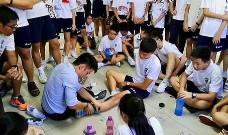 Health Talk at Confucian Private Secondary School