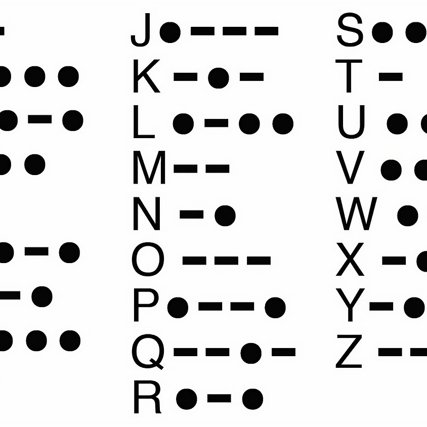 Morse Code in Python