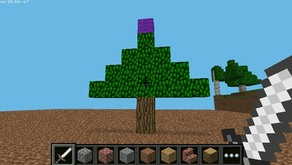 Coding a Minecraft Christmas Tree
