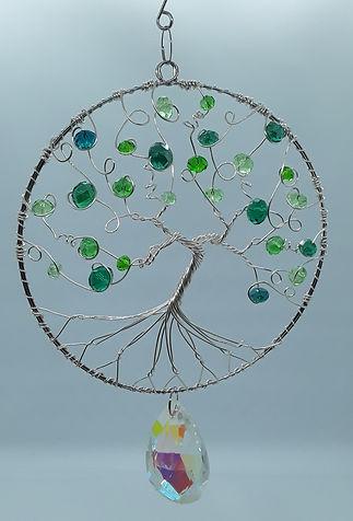 Springtime Tree of Life Window Charm