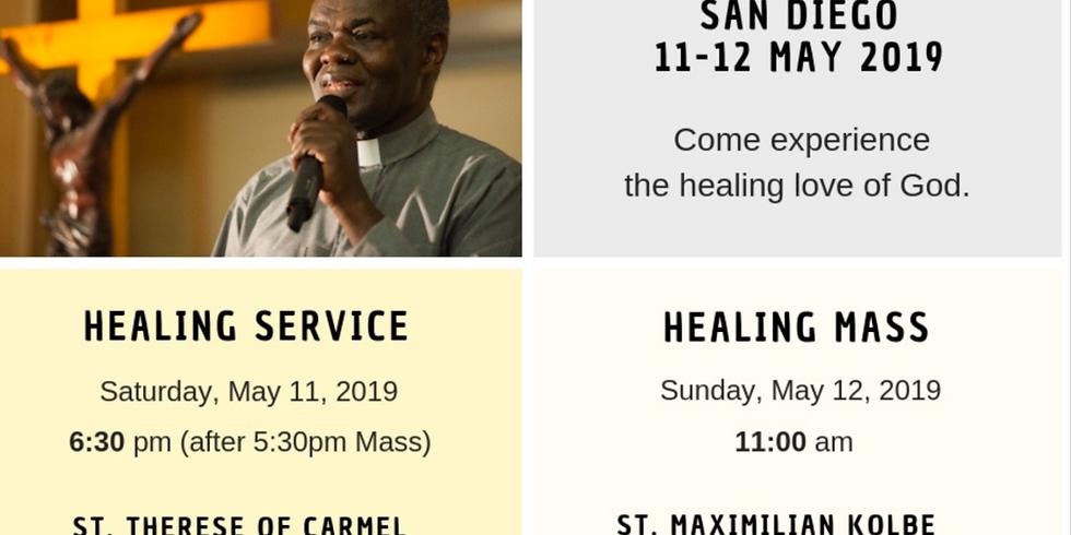 Holy Mass & Healing Prayer Service with Fr. John Baptist Bashobora