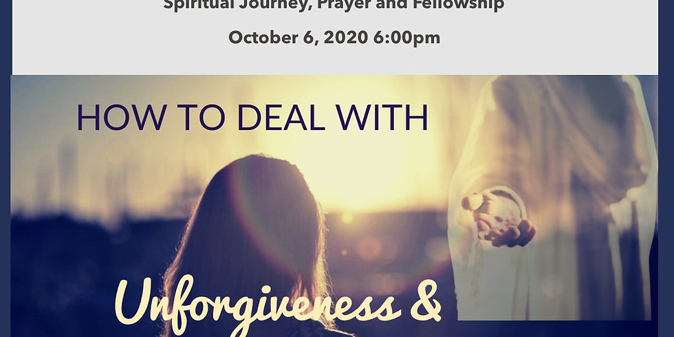 How to deal with unforgiveness and spiritual wounds