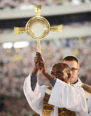 Father Bashobora in Warsaw, Poland