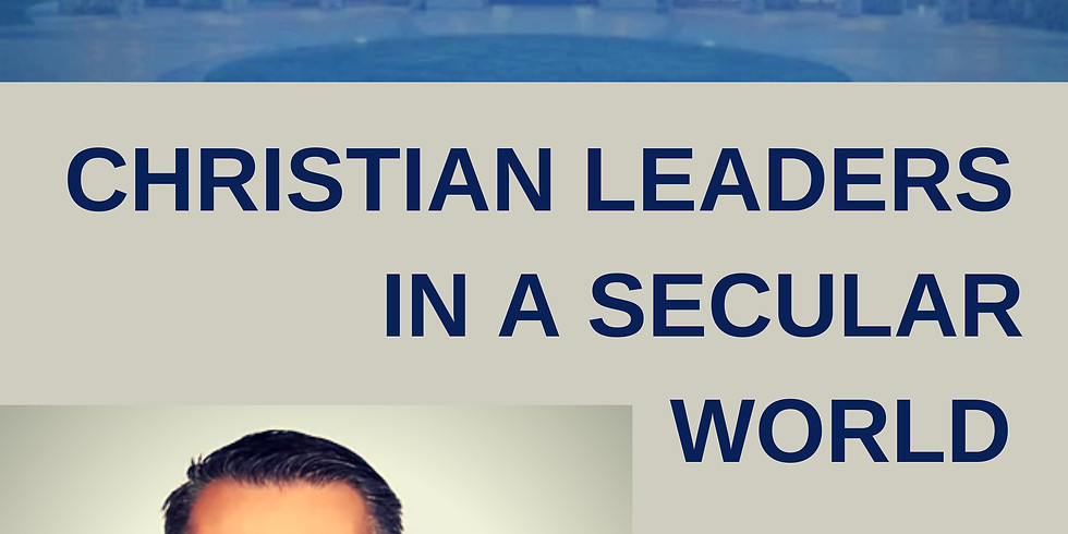 """Filip Ponulak """"Christian Leaders In A Secular World"""" Panel Discussion"""