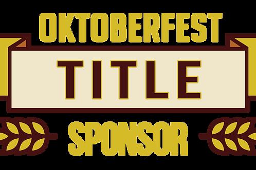 Oktoberfest Title Sponsor