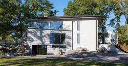 Nybyggnation modern stil Vintervägen 33, Stocksund