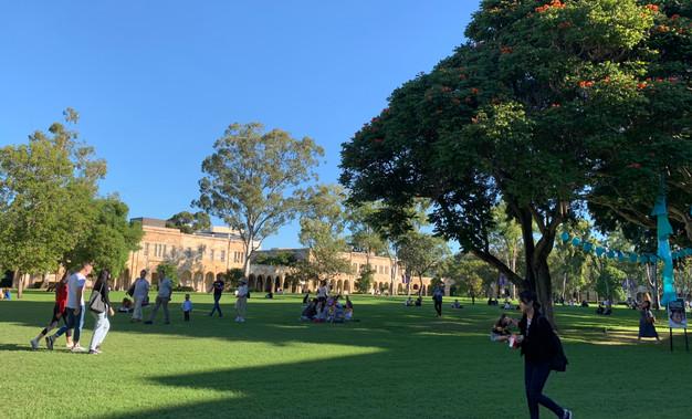 Campus of Queensland University