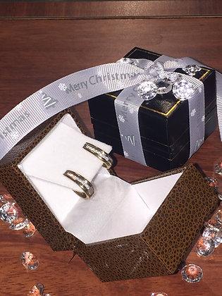Gold & Diamond Earrings