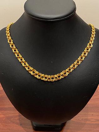 14K Rose Gold Russian 1960's Opera Length Chain