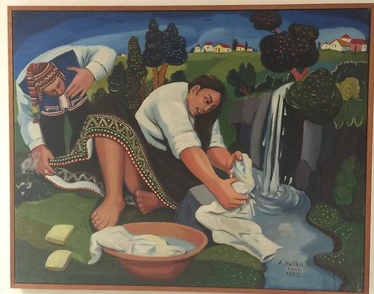 """Peruvian Washing"" by Antonio Huillca Huallpa"