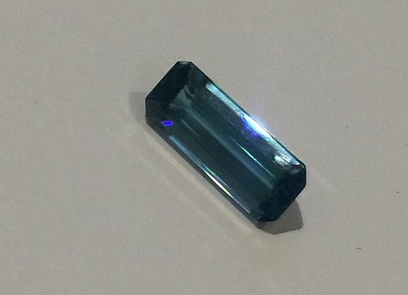 Baguette Cut 5.00ct Loose Blue Natural Tourmaline (Indicolite)