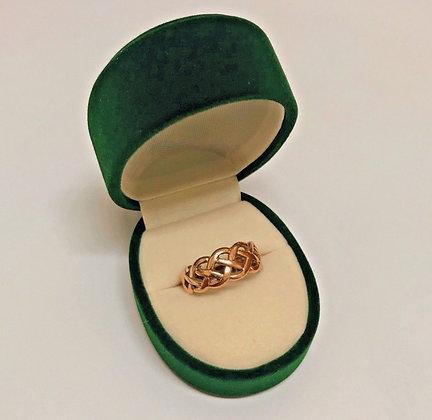 9K Rose Gold Vintage 8mm Band/Ring