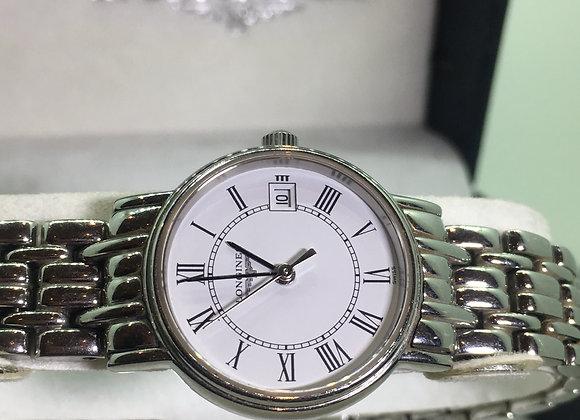 Longines L4.220.4 Stainless Steel 23mm Quartz Ladies' Watch