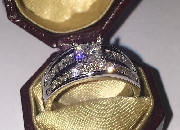 Gold & Diamond Cluster Ring