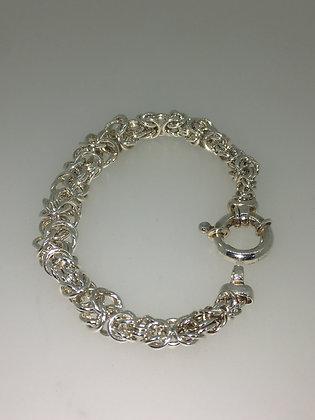925 Sterling Silver Birdcage Link Bracelet