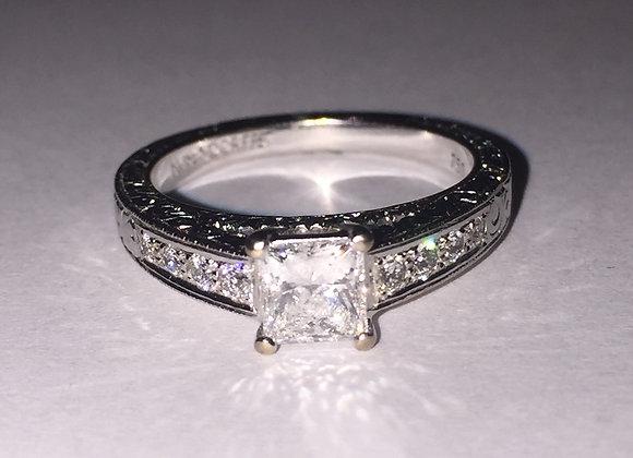 Gold & Diamond ring by Rosendorff
