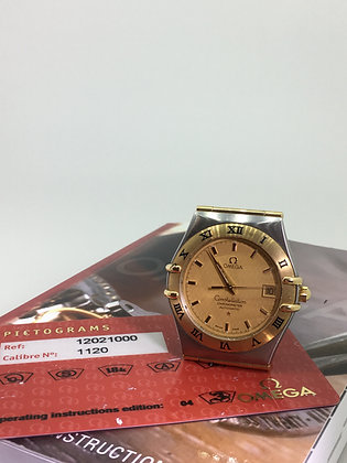 Omega Constellation ref 1202.10.00 Gold & Steel Automatic Gents' Watch
