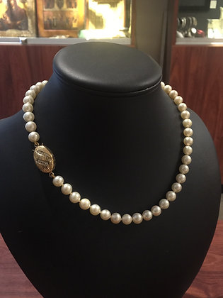 South Sea 9mm Pearl Necklace