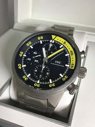 IWC Aquatimer Split Second Chronograph Titanium ref 3723 Watch